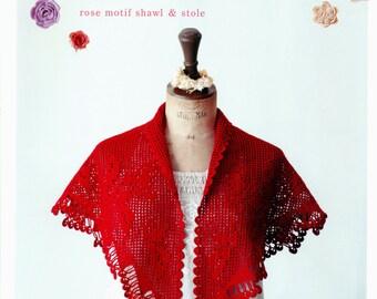 Irish crochet lace - irish crochet motif - irish crochet pattern - japanese crochet - japanese craft ebook - PDF - Instant download