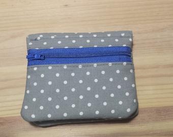 Mini bi-fold wallet