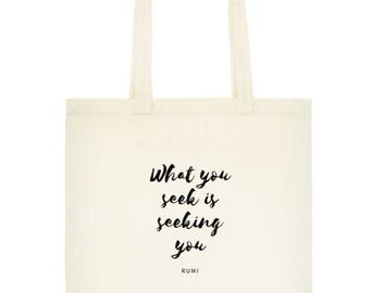 Tote Bag for Inspiration and Creativity