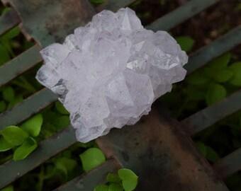 Lavender Amethyst Spirit Quartz Flower