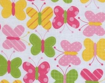 Patchwork butterflies urban zoologie Kaufman fabric