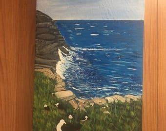 Sea Birds at the Shore