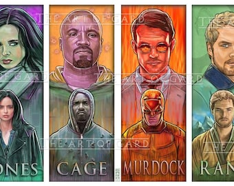 The Defenders Art Print
