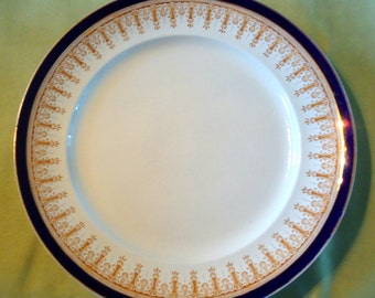 SALE! Maple and CO, Wedgwood Imperial Porcelain Dinner Plate