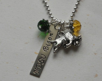 NDSU Bison Necklace