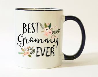 Grammy Gift / Grammy Mug / Best Grammy Ever Mug / Grammy Coffee Cup / Grammy Coffee Mug