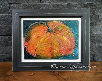 Fall decor,Halloween decor,Thanksgiving decor,Autumn decor,Fall decoration,Halloween art,pumpkin wall art,pumpkin oil painting,pumpkin decor