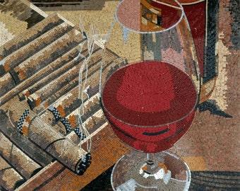 Mosaic Art - Vino Rosso