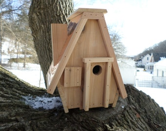 Copper Wren outhouse