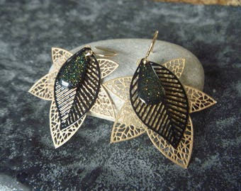 fallen leaf earrings