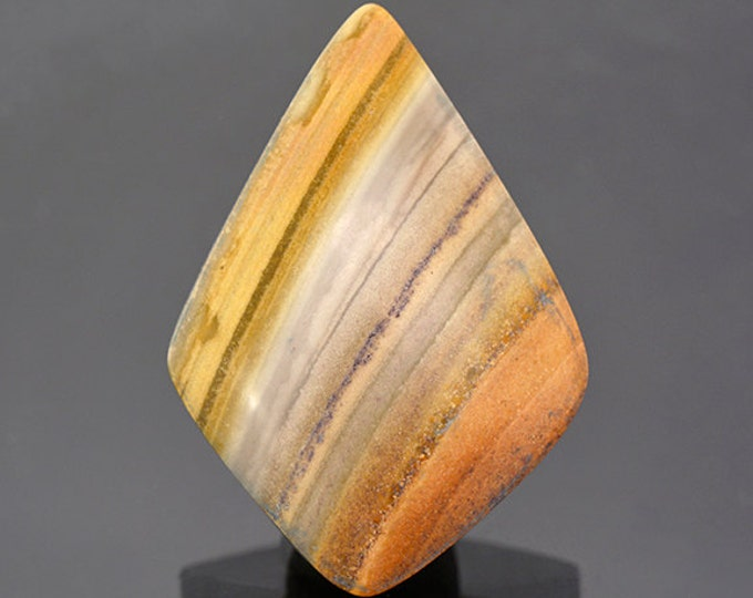Nice Banded Rhyolite Cabochon from New Mexico 36.34 cts.
