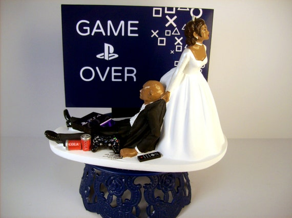 funny wedding cake toppers south africa wedding cake topper bald american black custom 14607