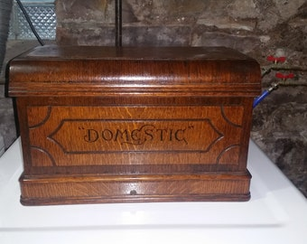 Domestic Sewing Machine Wood Cover