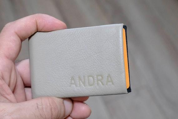 Mens Wallet, Slim Minimalist Wallet, Womens Wallet, Leather Wallet, RFID Wallet, New Generation Nero Wallet - 30% Thinner  Ultra Slim Wallet