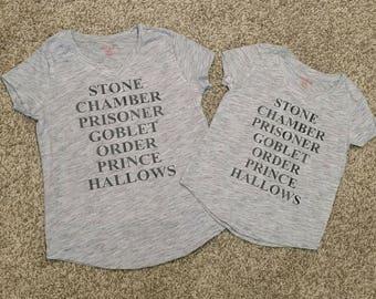 Harry Potter Book Shirt