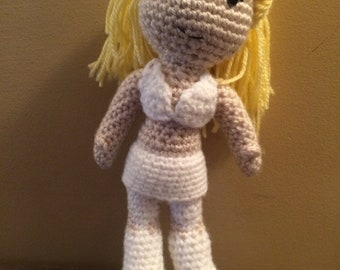 Made to Order Emma Frost White Queen XMFC inspired X-Men amigurumi doll