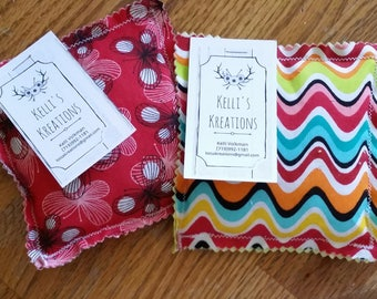 Handcrafted Pair of Rice Hand Warmers