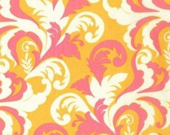 Clearance-Sandi Henderson for Michael Miller, Meadowsweet, Grand Foliage in Blush ( SH4240) -1 Yard