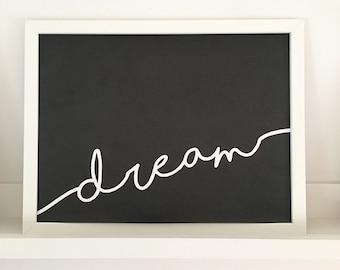 A4 Dream print