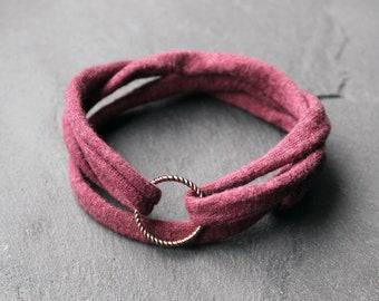 Jersey ring armband