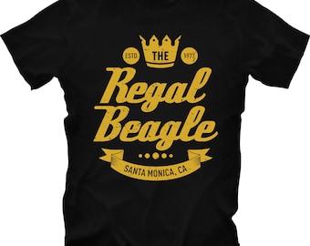 The Regal Beagle T-Shirt, Three's Company, John Ritter Tshirt