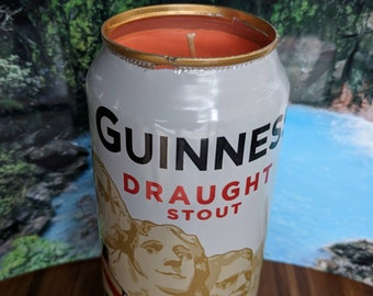 Guinness 16 oz. Beer Can Candle   Love Spell Scented