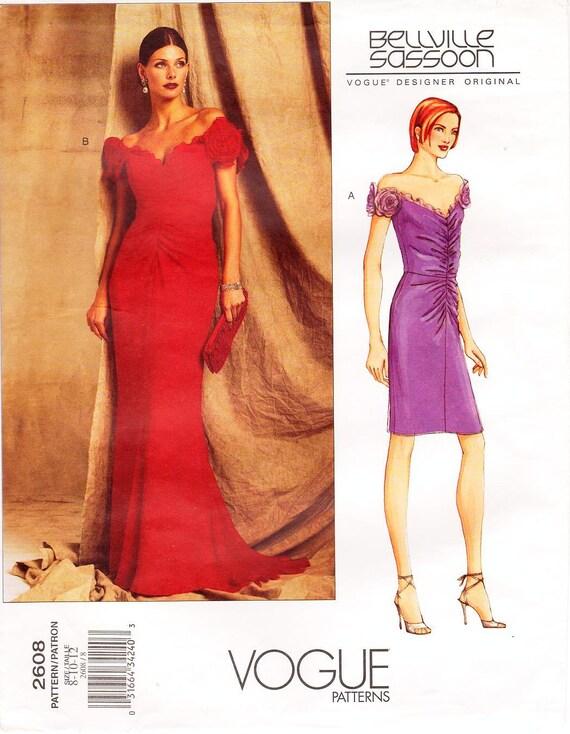 SZ 10.08.12 Vogue Schnittmuster 2608 von BELLVILLE SASSOON