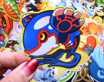 Kyogre Sticker