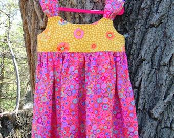 Girls Sundress, Birthday Dress,