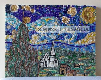 "Mosaic painting ""Starry Night"""