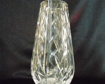 Vintage Waterford Crystal Flower  Vase