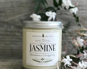 Handmade Artisan Jasmine Soy Candle