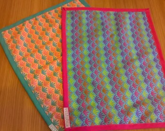 Set 2 placemats in 100% Oeko-Tex Cotton