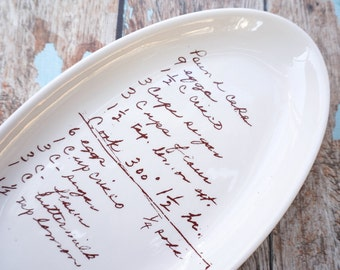 Items & Custom Recipe Personalized Gifts Wedding gift Ideas by phpottery