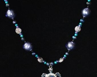Sea Turtle Beaded Necklace