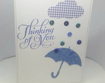 Handmade 3D Thinking of You Card for Jehovah's Witnesses