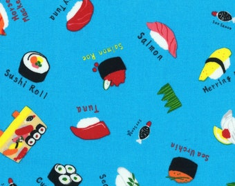 Lecien - Food Land Collection - Sushi in Turquoise