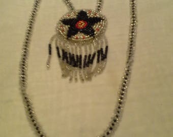 Native Inspired Seed Bead Necklace