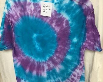 Tie Dyed T-Shirt Adult Large  (AL-27)