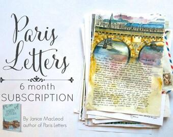 PARIS LETTERS: 6 month subscription