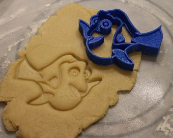 Dory Finding Nemo Dory Cookie Cutter and Fondant Cutter, Party Supply,Birthday, Child Party,Children Party