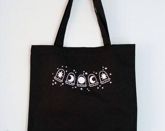 Moonphase Window Tote