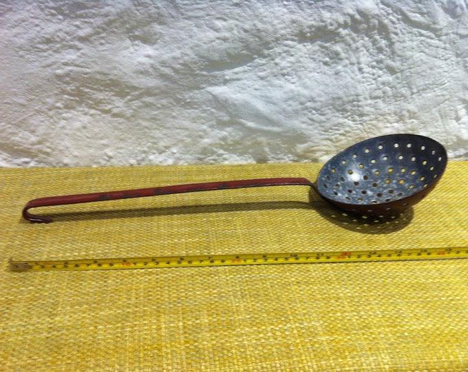 Vintage Enamel Trowel Garden kitchen Deco Accessoires Shabby chic