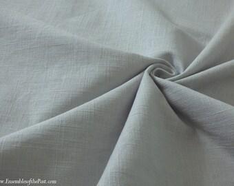 "Reserved for Liz: 4.5 yards Linen Fabric - Heavy Linen Fabric -  Light Grey Linen - 15 oz per yard - 100% Linen - 53"" Wide - EP Linen #147"