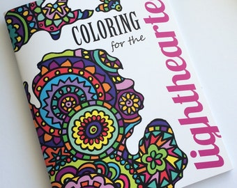 Coloring Book for the Lighthearted- FREE SHIPPING!