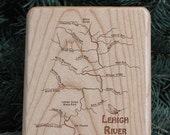 LEHIGH RIVER MAP Fly Box ...