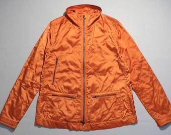 vintage Riani women's  light Jacket rare Orange SIZE 40 M