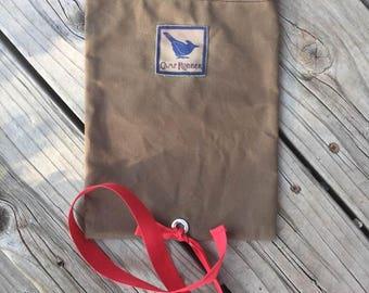 That Rag Bag for woodworkers' oily finishing rags. Doug's Rag Bag. Teabag Rag Bag.