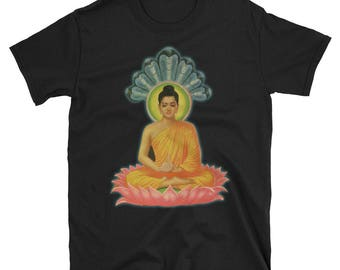Buddha Statue, Buddha Shirt,  Buddha Head, Peace on Earth, Inner Peace, Small Buddha, Namaste Shirt, Meditating Buddha, Mystic Shirt, Buddha