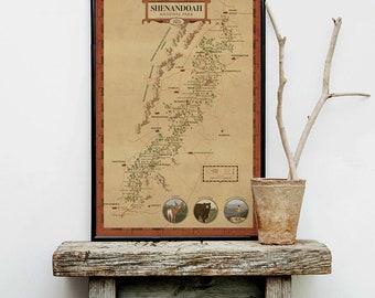 Shenandoah National Park Map, see America map, virginia park map, Shenandoah park map